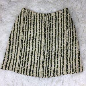 Banana Republic Women's Size 8 Striped Skirt